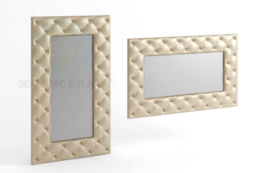 3d model 170 x 100 mirror type 5 - preview