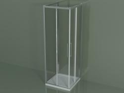 Box doccia ZA + ZA + ZG 70, 3 lati con porta scorrevole ad angolo