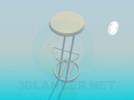3d modeling Bar chair model free download