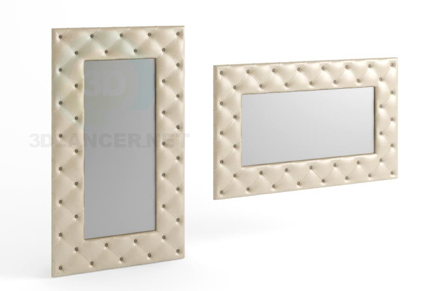 3d model 170 x 100 view mirror 6 - preview