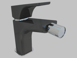 Mixer for bidet - chrome black Hiacynt (BQH B310)