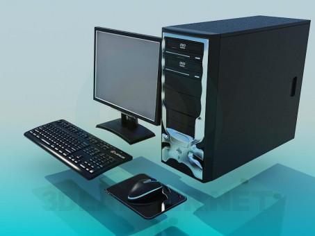 3d model PC - preview