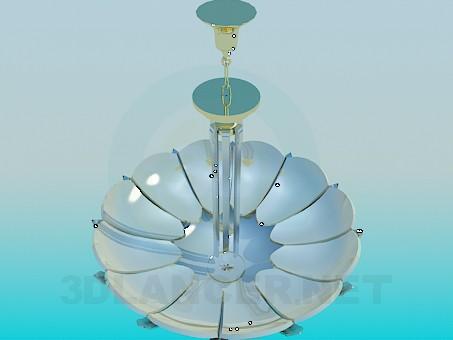 3d model Chandelier-flower - preview