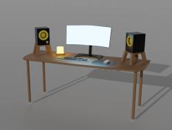 कम्पुटर मेज
