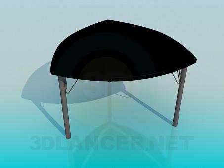 3d модель Стол треугольной формы – превью