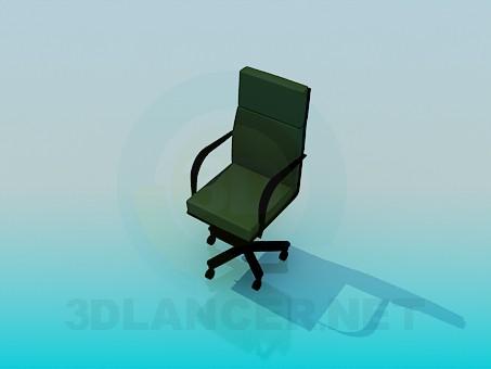 3d модель Офісне крісло – превью