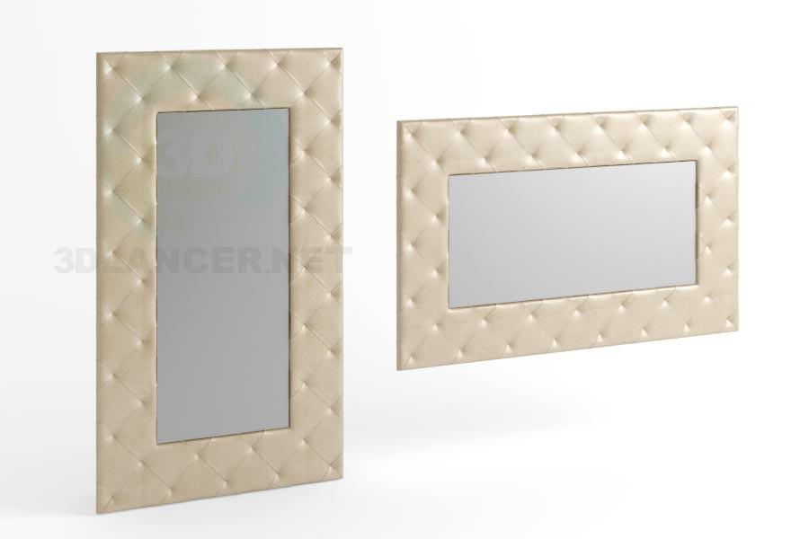 3d моделирование Зеркало 170 x 100 вид 4 модель скачать бесплатно