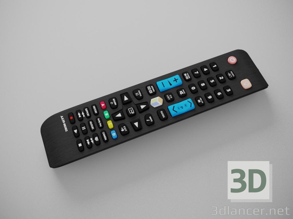3 डी मॉडल सैमसंग टीवी के लिए रिमोट कंट्रोल - पूर्वावलोकन