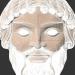 3 डी ग्रीक मास्क मॉडल खरीद - रेंडर