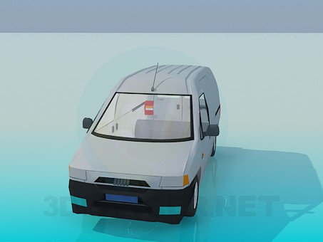 3d model Pickup - preview