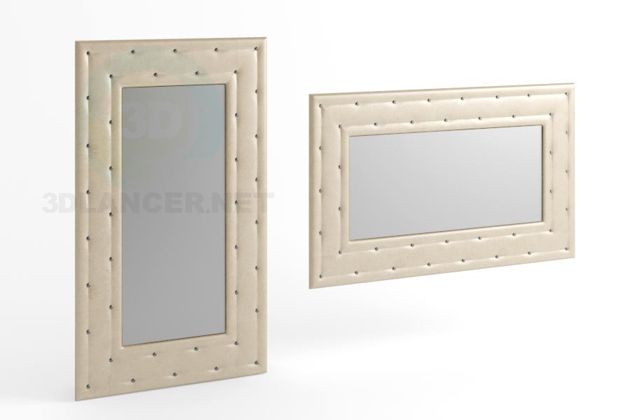 3d model 170 x 100 view mirror 3 - preview