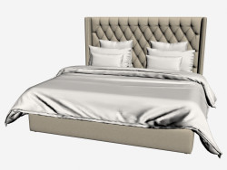 MANHATTAN bed KING SIZE (201,001-F01)