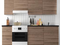 Modular kitchen IKEA KOHOKHULT