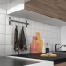 3d Modular kitchen IKEA KOHOKHULT model buy - render