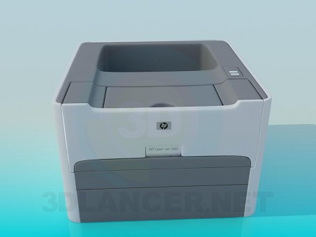 3d modeling Printer model free download