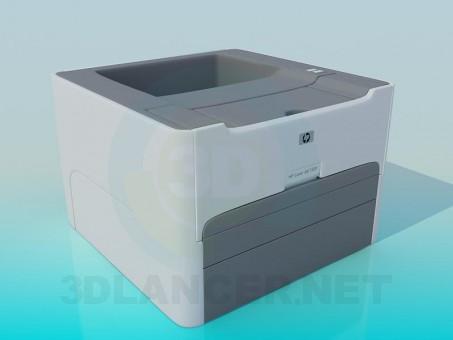 modelo 3D Impresora - escuchar
