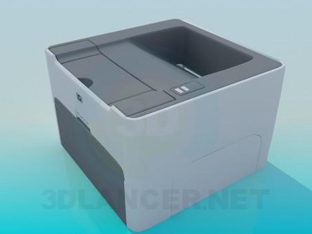3d model Printer - preview