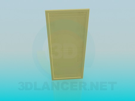 3d modeling Door model free download