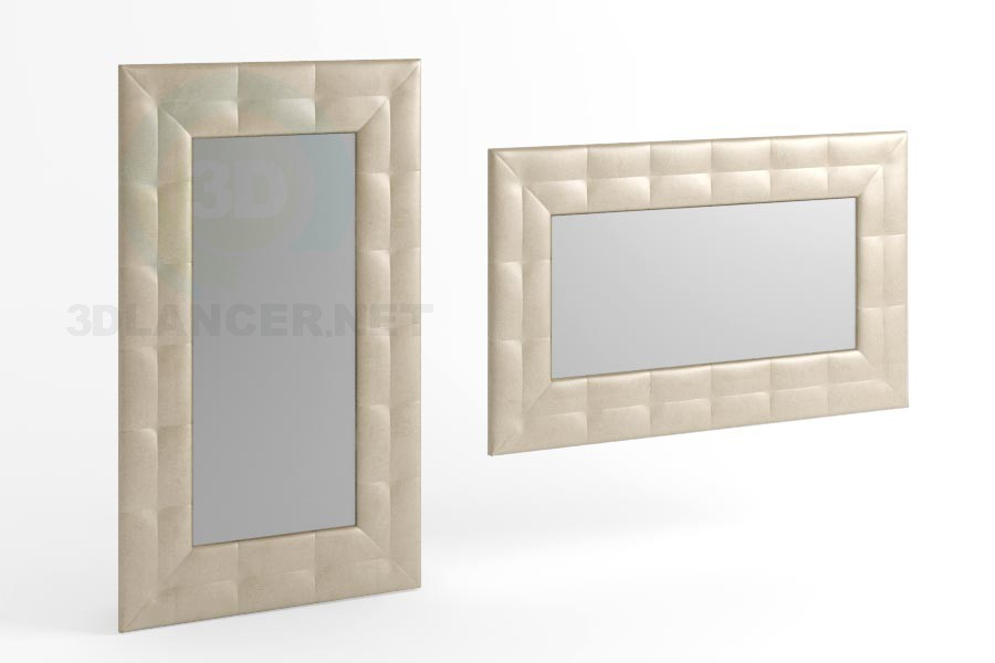 3d modeling 170 x 100 mirror type 2 with collections model free download