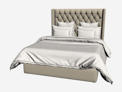 MANHATTAN bed QUEEN SIZE (202,001-F01)