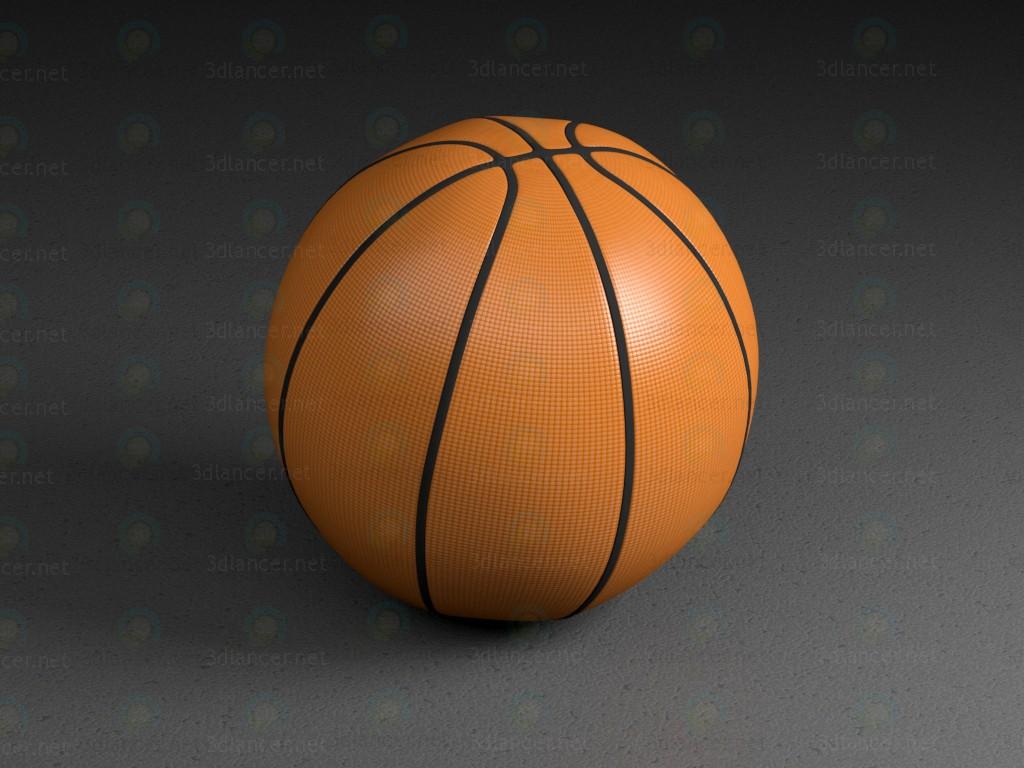 3d model Basketball ball - preview