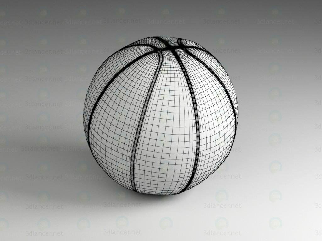 3d модель Баскетбольный мяч – превью