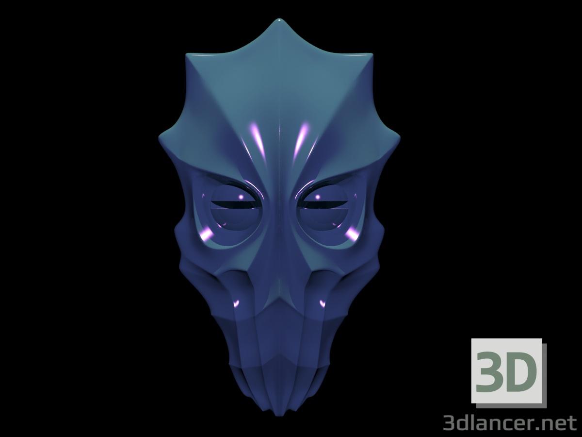 3d Fantastic monster mask model buy - render