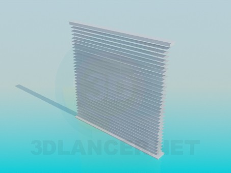 3d model Window blinds - preview