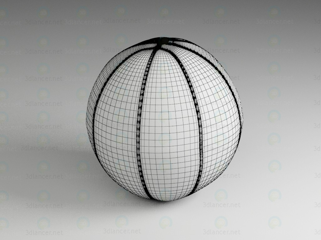 3d model Ball for basketball - preview