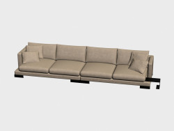 Sofa Quadruple Lancaster