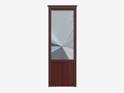 Hinged mirror for the hallway (760x2167x38)
