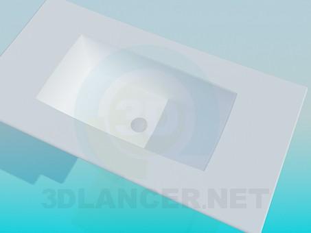 3d model Futuristic laver - preview
