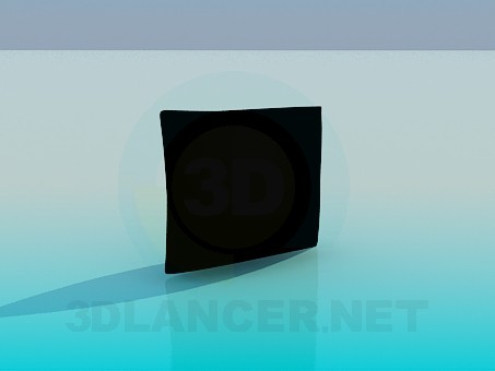 modelo 3D Almohada - escuchar