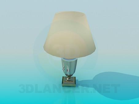 Masa lambası model ücretsiz 3D modelleme indir