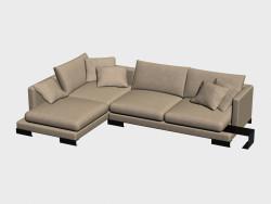 Canapé modulaire (angulaire) Lancaster
