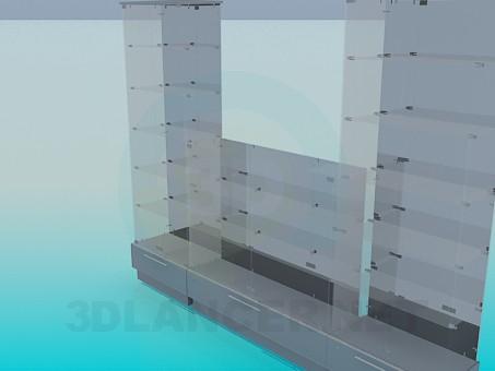 modelo 3D Ventanas con - escuchar