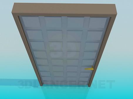 3d моделирование Дверь с текстурой модель скачать бесплатно