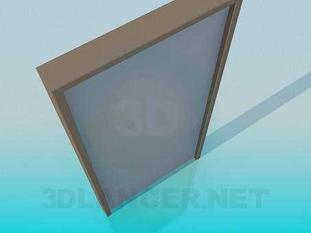3d модель Дверь с текстурой – превью