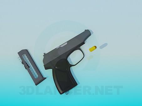 3d модель Пістолет – превью