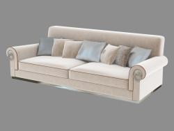 Sofá de cuatro plazas Enea