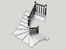 Модель лестницы