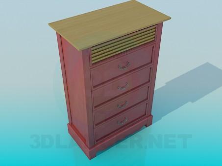 3d model Cupboard - preview