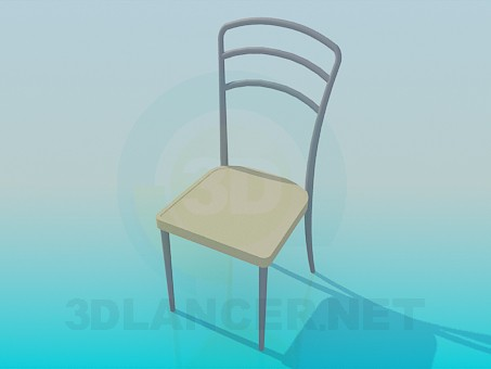 modelo 3D Easy chair - escuchar