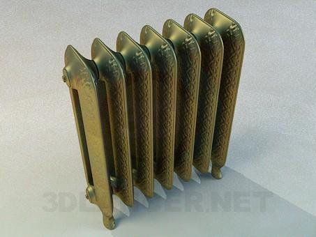 modelo 3D Radiador de oro - escuchar