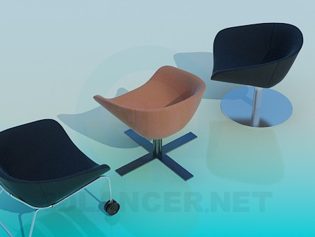 3d modeling Chairs to relax model free download
