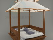 Кровать-беседка Gazebo