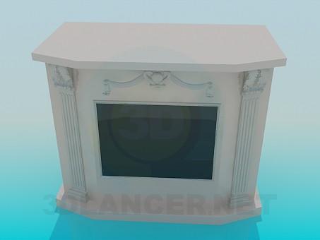 3d modeling Fireplace model free download