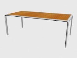 Sala da pranzo tavolo superiore Teak 51770