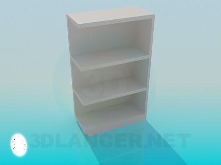descarga gratuita de 3D modelado modelo Estante de la esquina