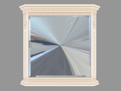 Mirror to the dresser (900x962x98)